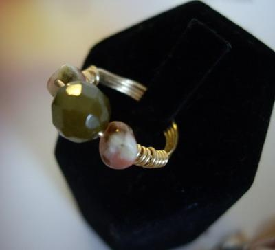 ring three stones