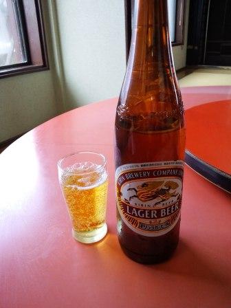 東華飯店ビール130224