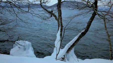 冬の十和田湖2