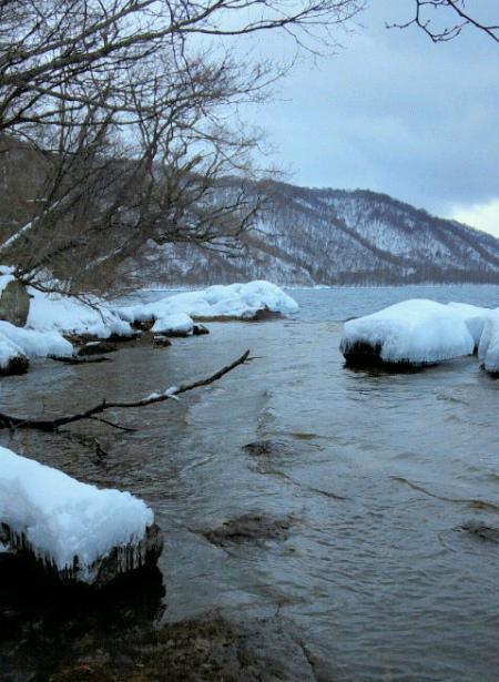 冬の十和田湖3