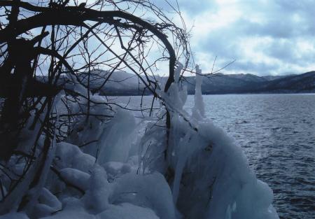ブログ十和田湖しぶき氷1