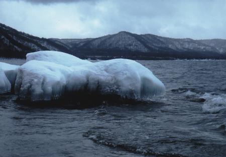 ブログ十和田湖しぶき氷3