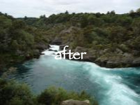 aratiatia rapids after