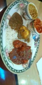スリランカ夕飯