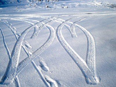 雪のハート1