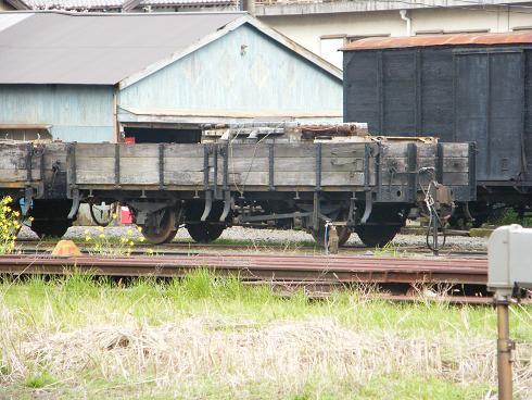古い貨車Ⅰ