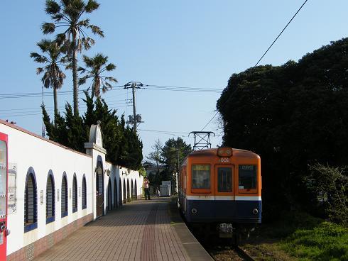 ポルトガル風の犬吠駅