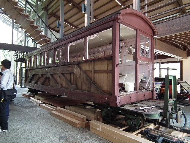 木曾森林鉄道客車
