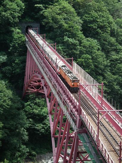 黒部峡谷鉄道