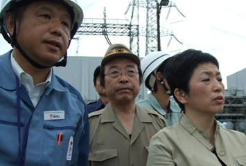 原発福島党首と