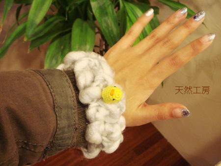 小猿の手にも似合う?