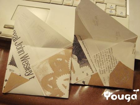 簡単封筒♪