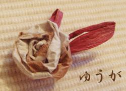 和紙の花☆