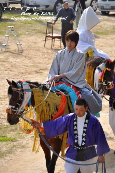 5お供馬結婚式_6181