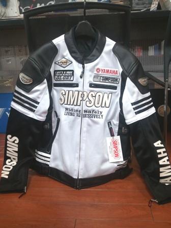 SIMPSONメッシュジャケット