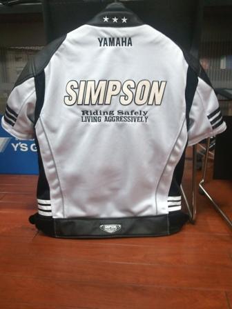 SIMPSON&YAMAHAコラボジャケット