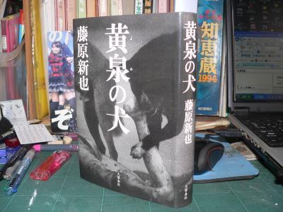 死体を食う犬の写真を表紙にした『黄泉の犬』(藤原新也著、文藝春秋、2006年)