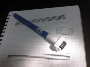 五線紙ペン