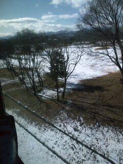 車窓(雪)
