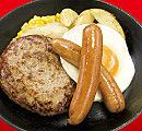 鉄皿コンビ定食