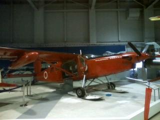 110112_ピラタスPC-6  南極観測用軽飛行機 スイス