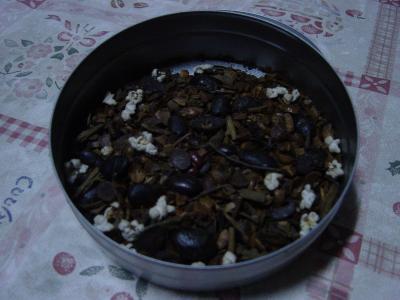 焙煎豆豆茶