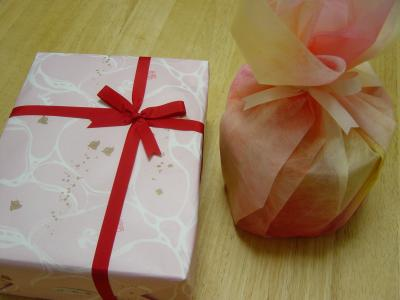お母さんからのプレゼント