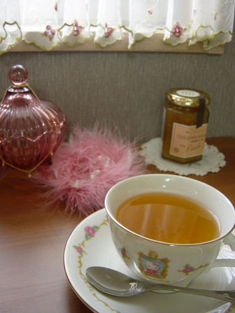 美人茶とバラ茶
