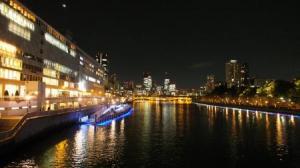 天神橋からの夜景