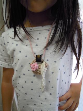 minibagネックレス③