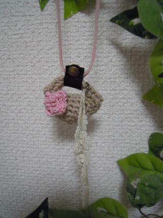 minibagネックレス