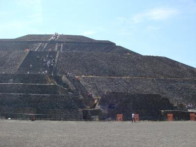 テオティワカン 太陽のピラミッド2