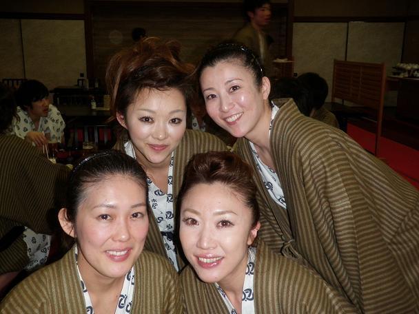 美女4組。大澤様ご一行様