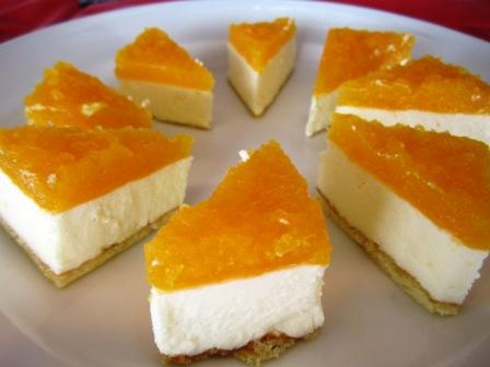 オレンジレアチーズ