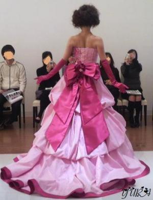 春夏ピンクドレス2