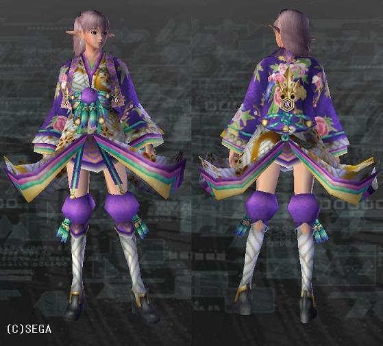 カグヤヒラリ 紫・白