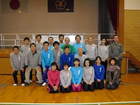 2月21日 太宰府南小学校体育館