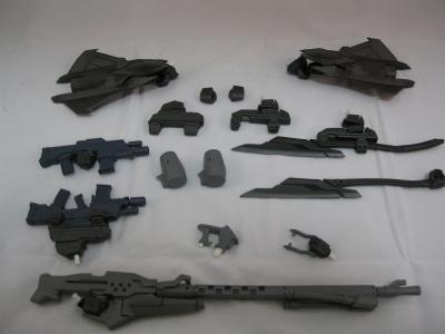隊長機の武装