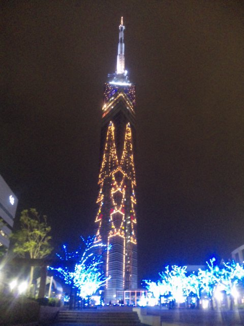福岡タワー X'mas Illumination