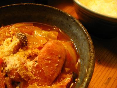 トマト鍋 2