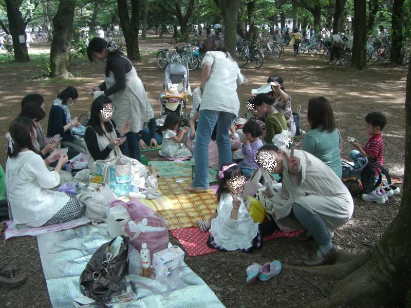 ロハス♪森の中での楽しい会合☆