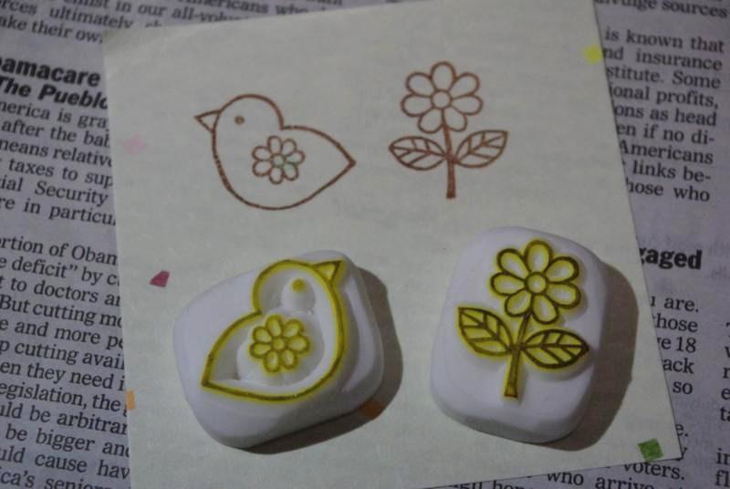 ひよことお花
