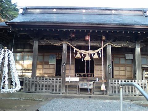 神社の小径7;土津神社