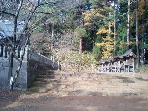 神社の小径9;土津神社