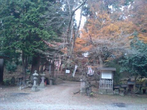 神社の小径12;磐椅神社