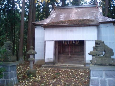 神社の小径19;大山神社