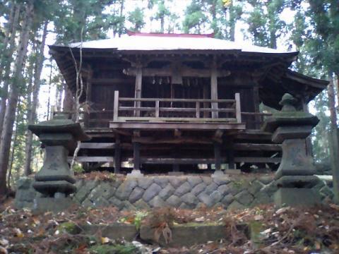 神社の小径25;馬頭観音