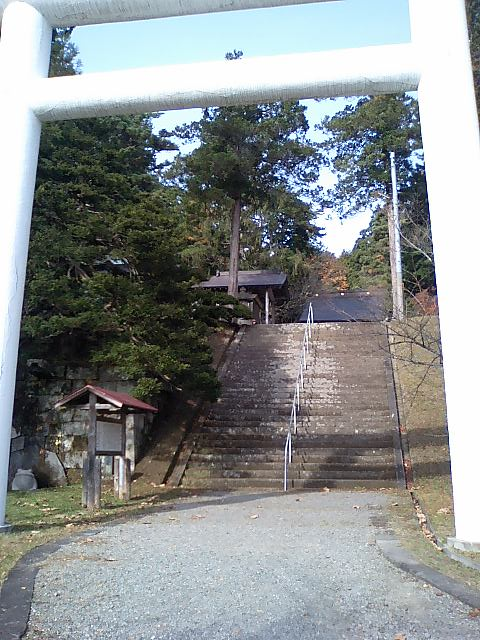 神社の小径2;土津神社