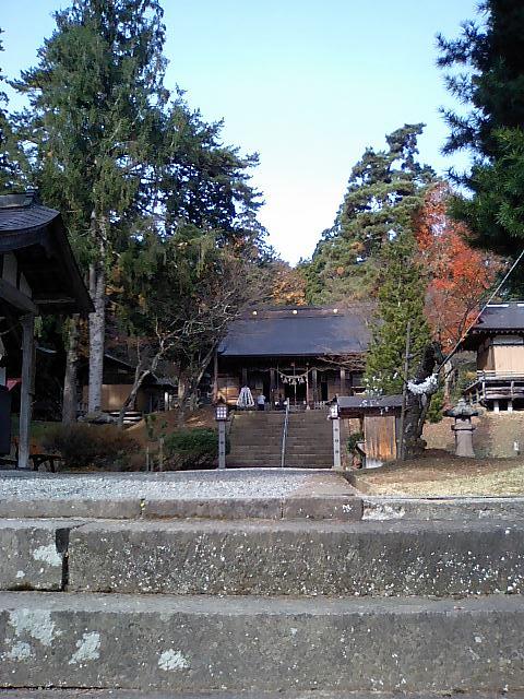 神社の小径3;土津神社