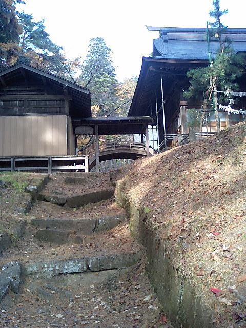 神社の小径8;土津神社